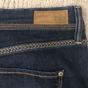 Levi's Shorts - Levi's stretchy jean shorts size 31 high rise